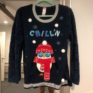 Sweaters - Ugly XMAS Sweater w/ LIGHTS